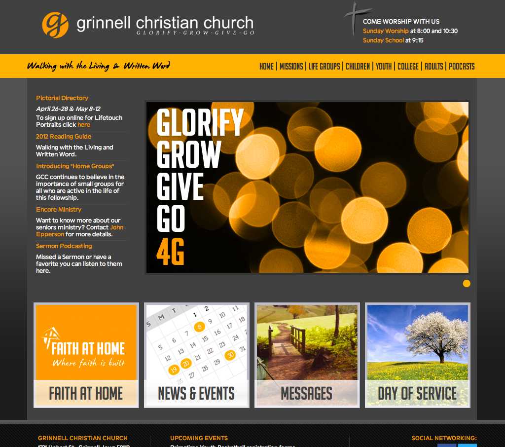 Grinnell, IA - Grinnell Christian Church